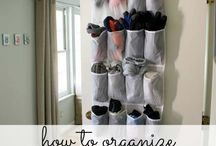 Get organized! / Ways to organize life and home!
