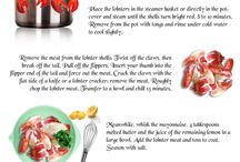 Delicious Seafood Infographics / Seafood recipes.