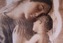 Vierge et enfant Jésus