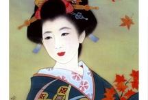 Japanese Art - ladies