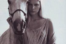 Horses and fashion editorials
