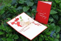 Pop up Cards, Greeting Cards