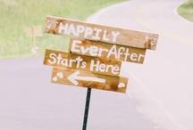 Welcome board / wedding