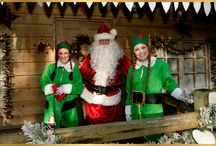Ashdown Forest - Christmas Gifts / Christmas is a busy time across the beautiful Ashdown Forest.   see Father Christmas in his grotto or on a steam train, meet his reindeer and pick up unique gifts!  No queues, free parking & wonderful place to rest and have tea & cake or lunch!