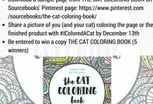 The Cat Coloring Book / Thanks for the chance! Nice to see that you are a local company. ;-)  ~ Liz, in Riverside, IL #IColoredACat