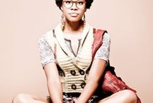 Afro look