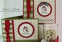 Christmas Cards / Festive card inspiration