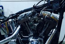 Harley Heritage Classic bobber project