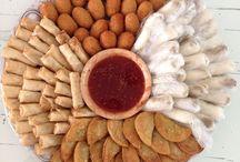 Indisch eten en hapjes