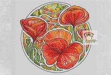 Floral Cross Stitch Patterns / Have a look at our collection of floral cross stitch patterns if you want to create an amazing bouquet that will never fade. Stylish cross stitch flower patterns, vintage floral designs, green cross stitch or whimsical cross stitch flowers. You will find here any for your taste!
