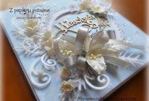 kartki z okazji świąt / kartki świąteczne, ręcznie wykonane