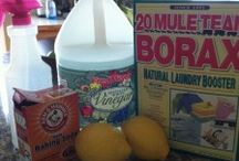 cleaning products homemade / by Robin Reaume