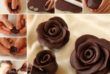 chocolate roses video.easy