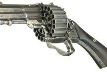 Steampunkish firearms