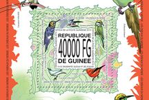 New stamps issue released by STAMPERIJA | No. 355 / GUINEE, REPUBLIQUE DE 30 11 2013 Code: GU13511a-GU1352b