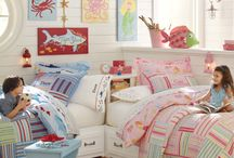 Shared Bedroom Ideas / It's often a challenge for parents to create a nice looking bedroom shared by a girl and a boy. Here's some of my favorite girl and boy shared bedroom ideas. Hope these ideas inspire some shared room designs of your own.