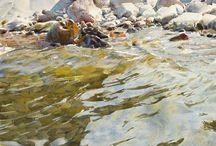 Watercolour: Water