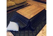 炬燵 kotatsu interior