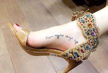 zapatos de tacón / Sandalias joya