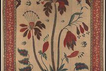 Çiçek tezhibi - Flower painting