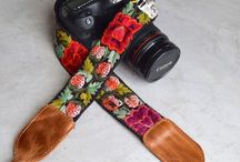 Embroidered Mayan Camera Straps