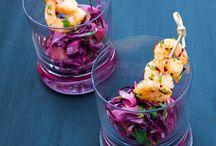 Salat-Gedanken / schmeckt nach Frühling, Sommer, Herbst und Winter