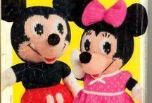 Mickey et min nie au tricot