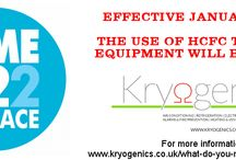 #R22 Replace / EFFECTIVE JANUARY 1, 2015, THE USE OF HCFC TO SERVICE EQUIPMENT WILL BE ILLEGAL  For more information: http://www.kryogenics.co.uk/what-do-you-mean-r22-phase-out/  Kryogenics can help you in the most cost-effective way: Email info@kryogenics.co.uk and enquire today!  Time is running out fast!