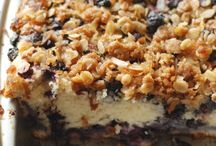 blueberry coffee & coconut streusel
