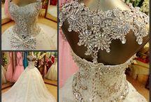 my wedding dress choices