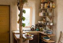 Garten Küche