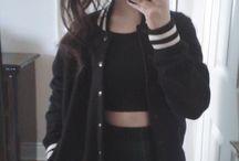 Dark wardrobe
