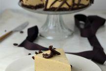 Tartas fría con muse de cafe