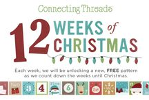 12 Weeks of Christmas / Each week until Christmas, we will be unlocking a new, FREE pattern. These patterns are perfect for gift giving or home decorating - whatever your holiday needs require. You'll only find these patterns at Connecting Threads so make sure you check back often! Post your versions and tag them with #12WOC! / by Connecting Threads