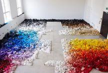 color art installation