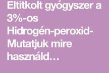 hidrogén perixif3% -os