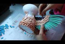 pássaros goma Eva