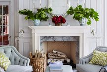 Mantles and Fireplaces / by Jeannie Hagopian