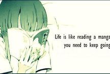 Anime and Manga quotes