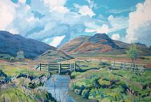 Exmoor Inspired Art / The landscape of Exmoor has long been an inspiration to artists. Here are some of our favourite Exmoor paintings.