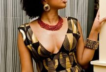 Chic Modern African Dress / by Muriel Kozonguizi