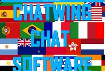 ChatWing Chatroom / Chatwing.com specializes in the new field of website chat.