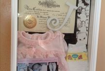 Shadow boxes  / by Alicia Kettering-Lindner