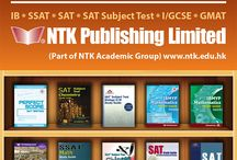NTK Publications / Developed by our in-house publishing team, these publications cater not just for the US SAT and SSAT exams, but also the IB and the UKI/GCSE exam systems. To date, NTK has published over 18 study guides.