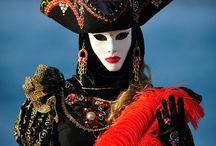 Carneval, costume, mask