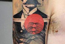 Grafische Tattoos