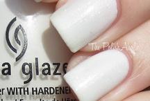 White polish collection