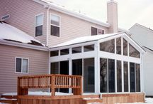 Enclosed Patios / Enclosed Patios featuring the Snap-N-Lock Insulated Panel, built by our customers.