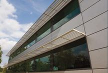 Modern architecture / Exterior building architecture and design.