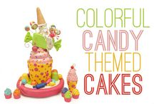 Candy Themed Cakes / by Pink Cake Box